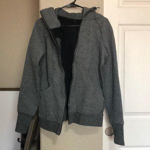 Lululemon Athletica heavy zip up jacket